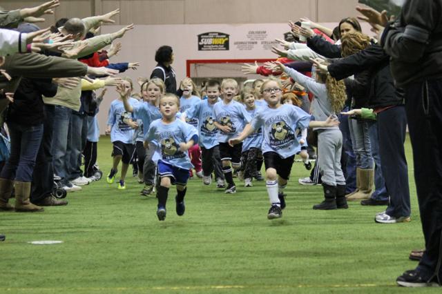 Children Athletes at Plex North