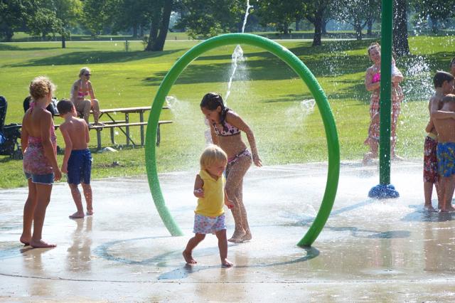Splash Pad at Shoaff Park