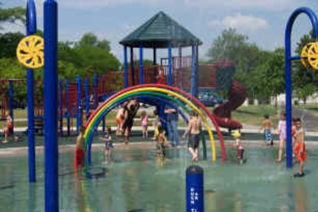 Memorial Park Splash Pad