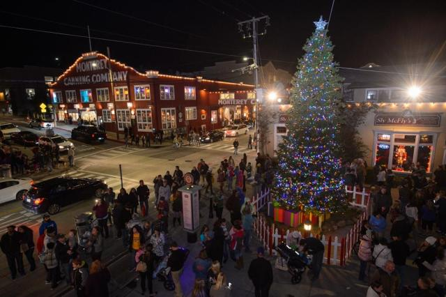 Cannery Row Tree Lighting