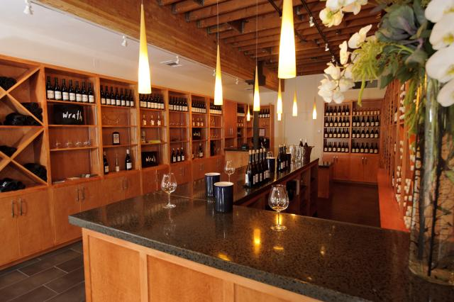 Wrath wine tasting room