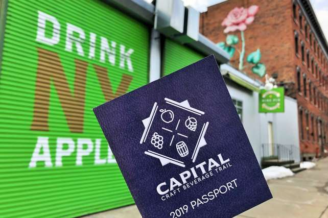 2019 Capital Craft Beverage Trail Passport