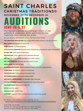 Saint Charles Christmas Traditions Auditions 2020