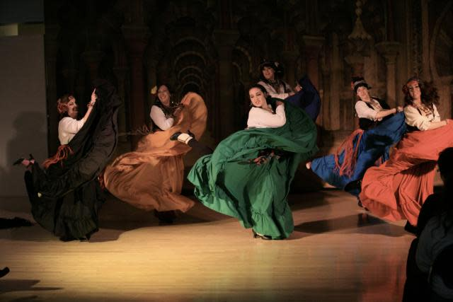 Sarpika from Lotus D'Or Studios will be performing traditional Romani danceat the SacWorld Festival.