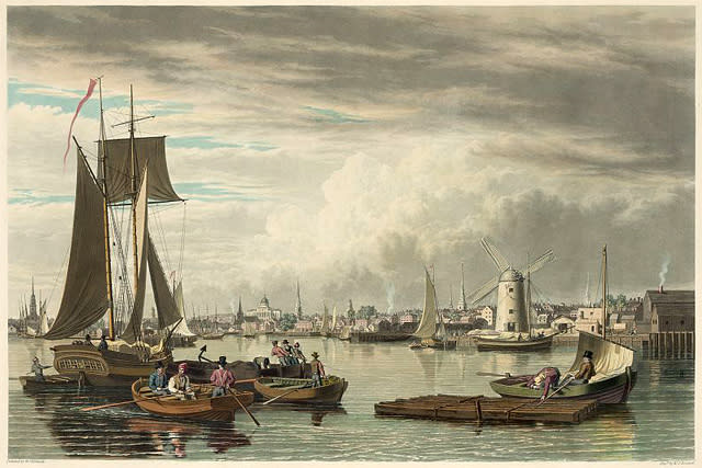 Early Boston Harbor