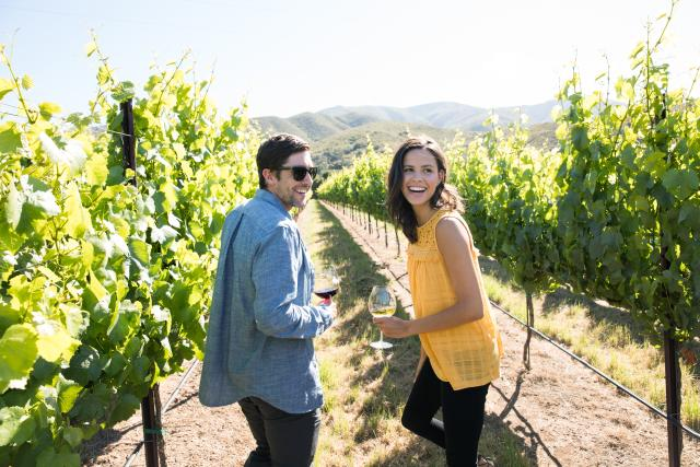 Salinas Valley Vineyard Couple