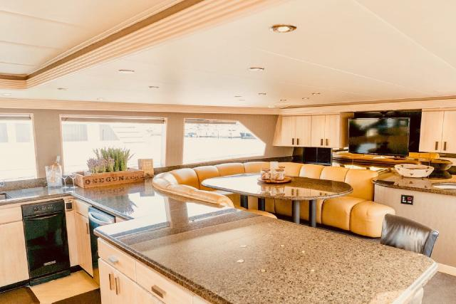 Luxury Liners Galley