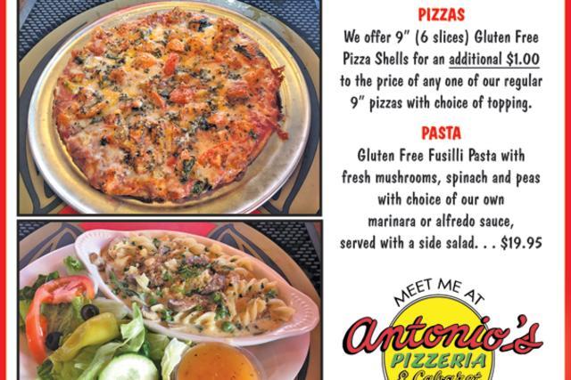 Antonio's Gluten Free Pizza & Pasta
