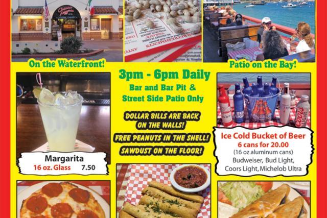 Antonio's Pizzeria & Cabaret Summer Happy Hour