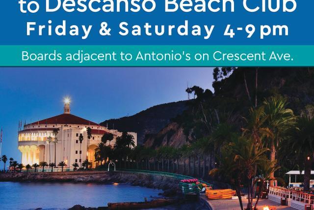 Beach Shuttle to Descanso Beach Club