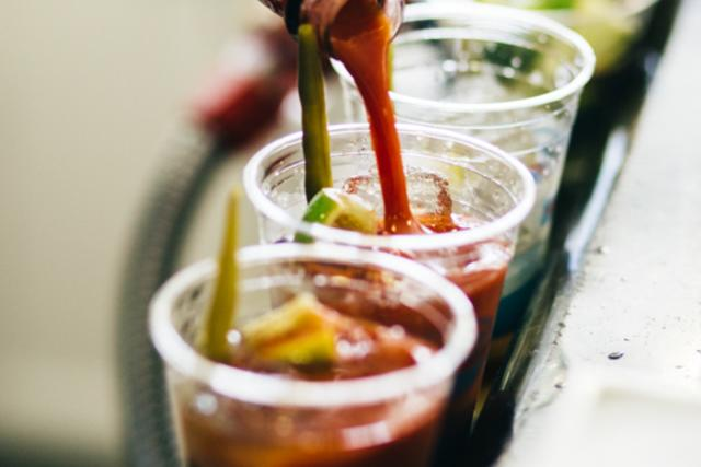 Catalina Express's famous Bloody Mary