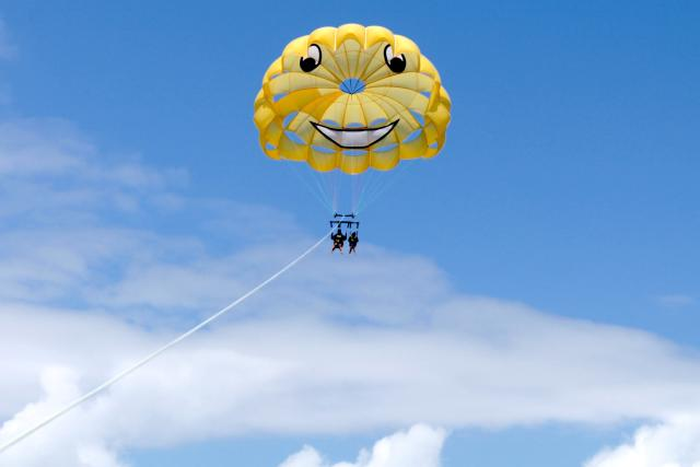Come And Check Out Our Customized Parachutes!