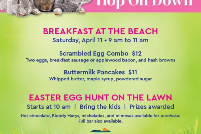Hop on Down for Easter Saturday at Descanso Beach Club