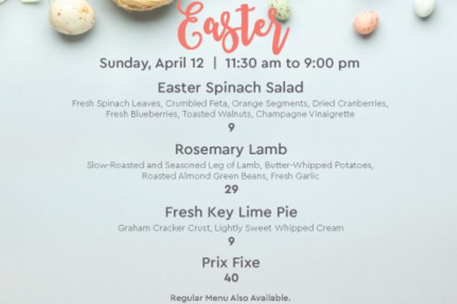 Easter at Avalon Grille