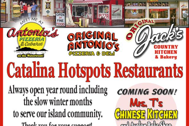Catalina Hot Spots - Open Year Round