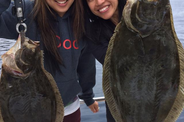 Adam's Girls & Halibut