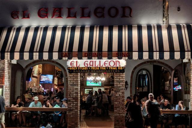 El Galleon Exterior