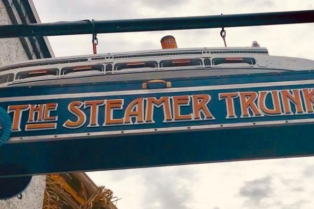 Steamer Trunk Sign