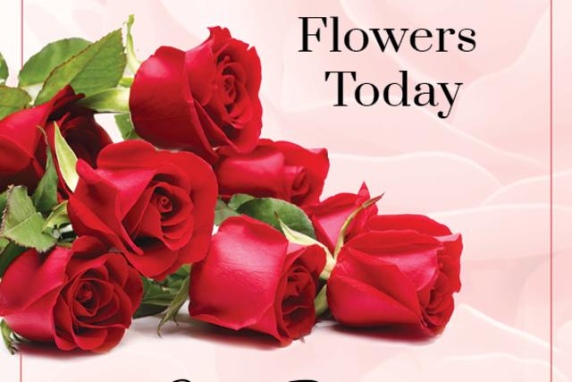 Order Your Valentine's Day Flowers
