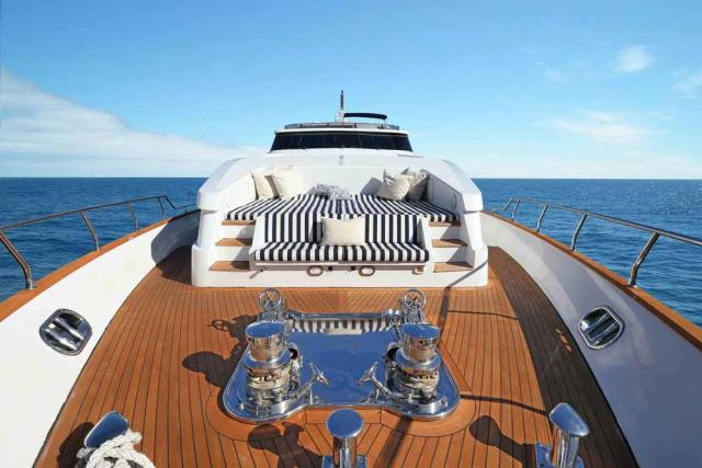 Luxury Liners Yacht Deck