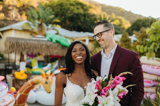 Samantha Marie Wedding Image at Descanso Beach Club