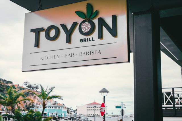 Toyon Grill Sign