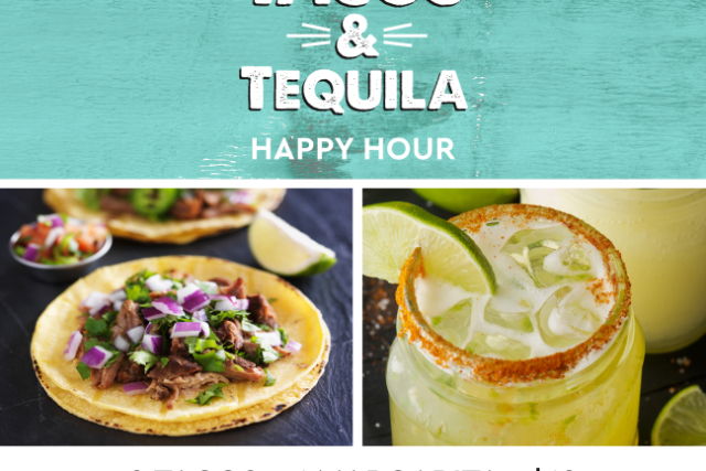 Tacos & Tequila Happy Hour at Descanso Beach Club