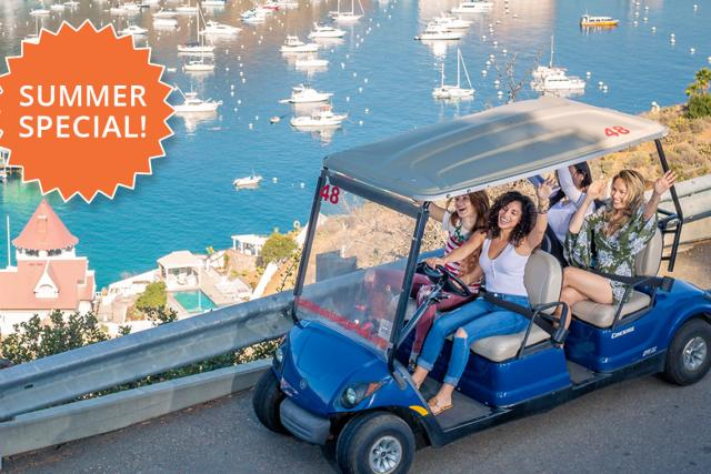 Summer Special - Catalina Island Golf Cart