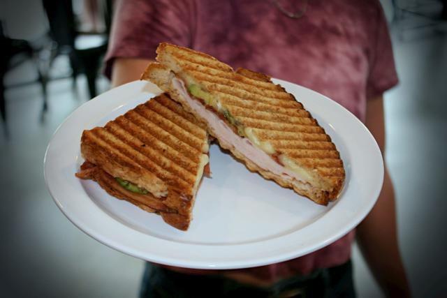 Fairmount Coffee Shocker Panini Sandwich