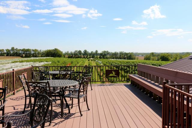Grace Hill Winery Patio