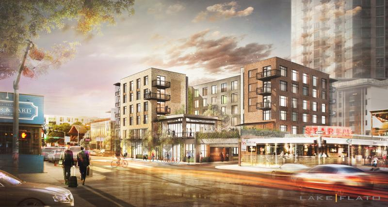 Canopy Austin Rendering on West Sixth Street