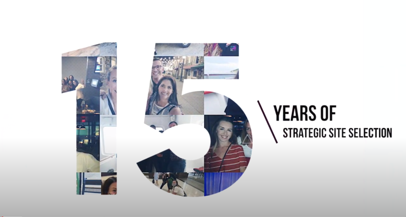 Strategic Site Selection Anniversary