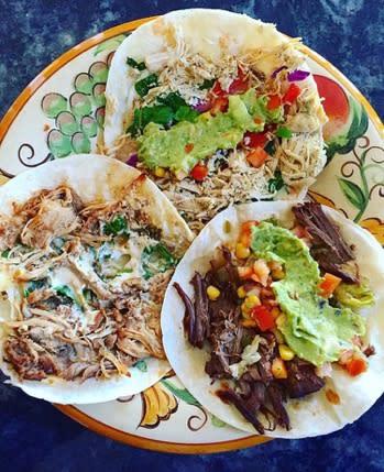 Lucha Cantina tacos