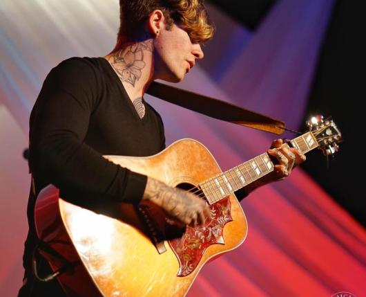 Matt McAndrew Playing at The Stitch Permance Hall