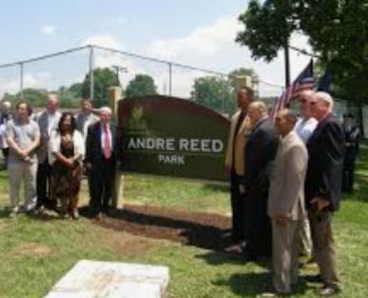 Andre Reed Park - Dedication