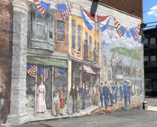 Bangor Mural