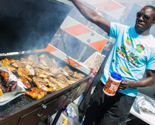 Blues Brews BBQ Food Vendor