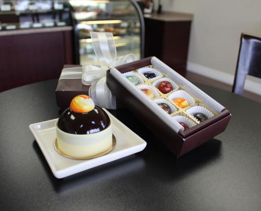 A variety of sweets at Dolce Patisserie