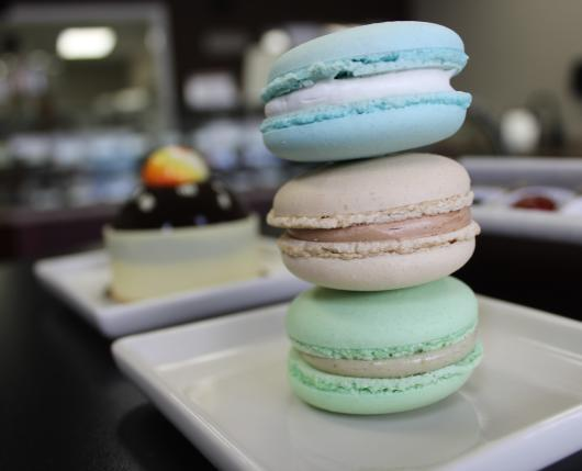 Macarons at Dolce Patisserie in Hellertown, Pa.