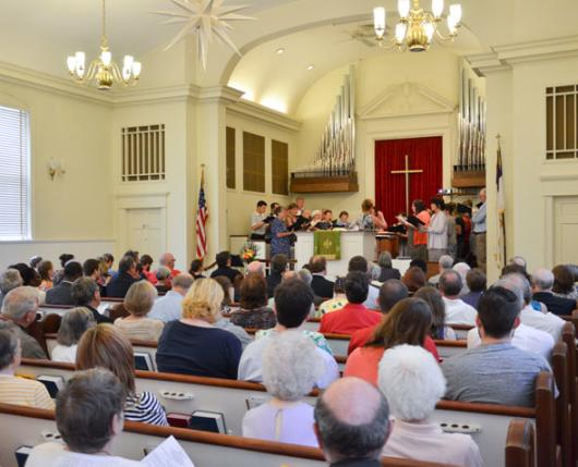Edgeboro Moravian Church Worship