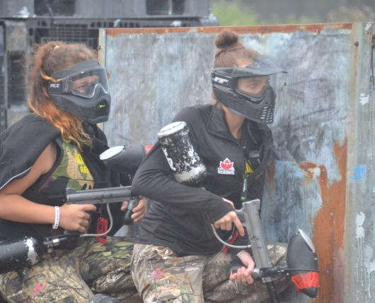 Paintball Ladies