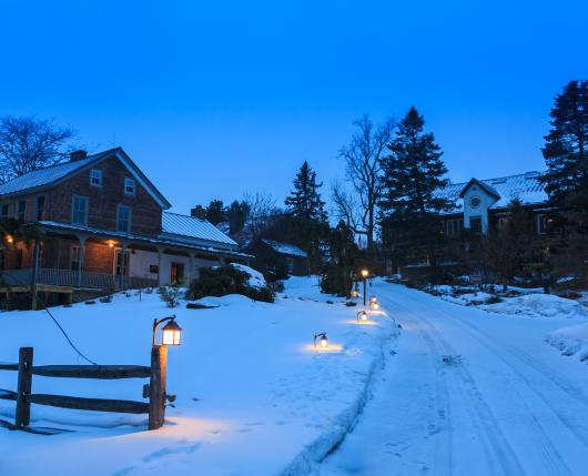 Winter Escapes to Glasbern...It's the most wonderful time of the year!..
