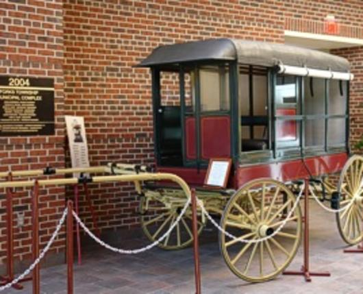 100-year-old Merchants Wagon