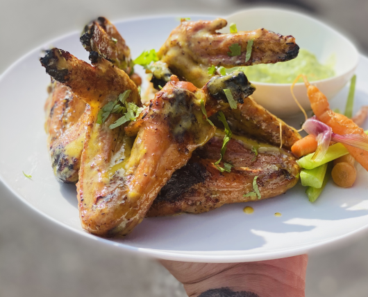 SMOKED & GRILLED WINGS