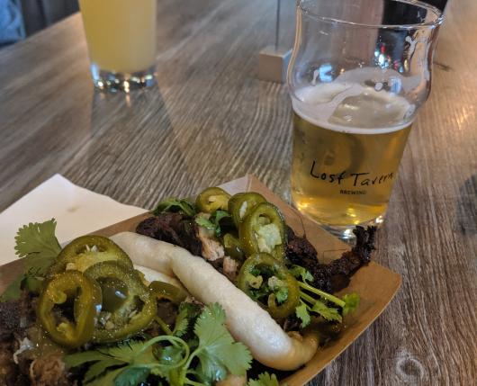 Randevoo Food Truck and beer at Lost Tavern Brewing in Hellertown