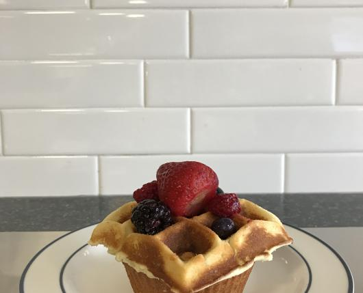 Waffle Muffin