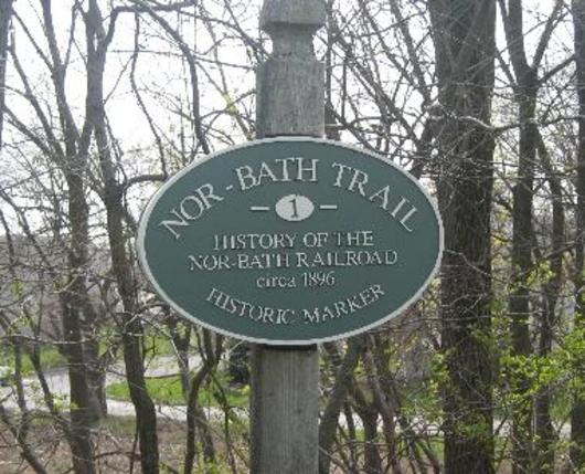 Trail Historical Marker