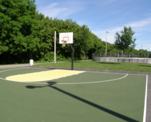 Jordan Meadows Basketball Court