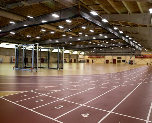 Kutztown University OPake Fieldhouse