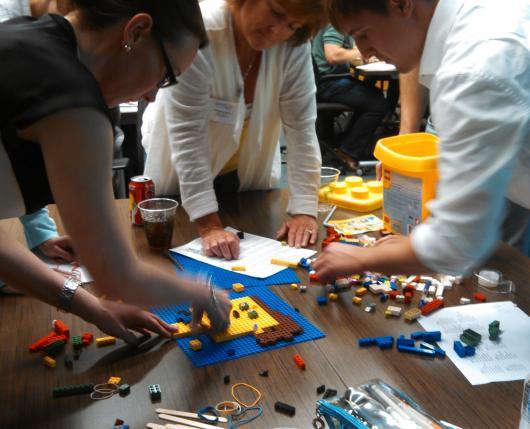 Lego Blueprint Team Building